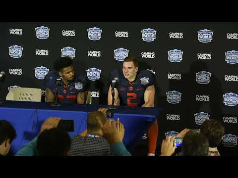 Eric Dungey emotional after Syracuse football win in Camping