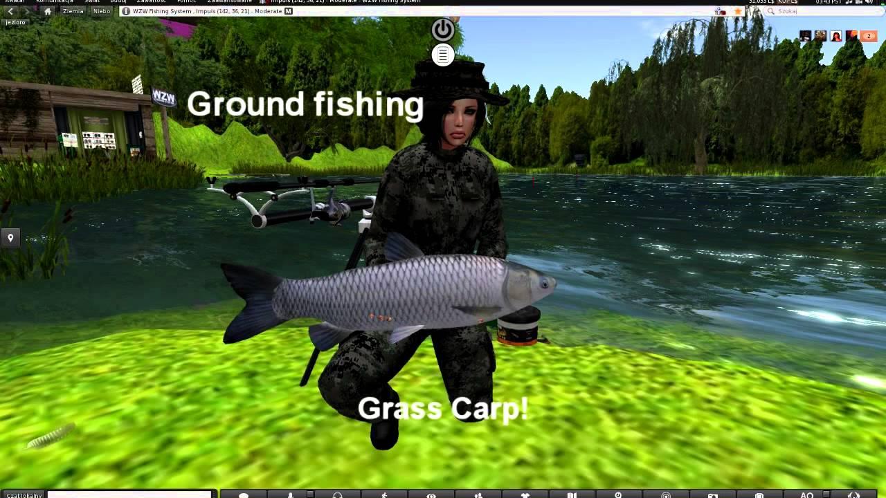 Wzw fishing system fishing simulator youtube for Sims 4 fishing