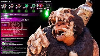 SHADOW OF WAR - NEW UNIQUE MACHINE BERSERKER OVERLORD DIFFICULTY NEMESIS IN DESERT
