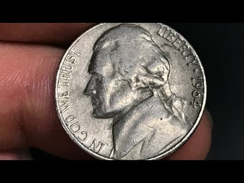 1964-D Nickel Worth Money - How Much Is It Worth and Why