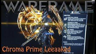 Warframe - Chroma Prime Leak