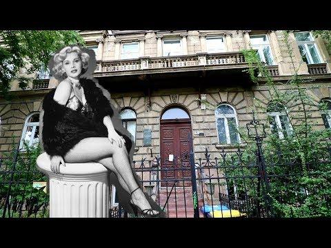 (9/30/2017) BUDAPEST : THE GABOR'S HOUSE - Zsa Zsa, Eva, And Magda CELEBRITY Hungary