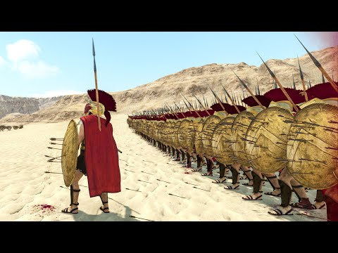 300 SPARTANS vs CROSSBOWS - Mount & Blade 2 BANNERLORD |