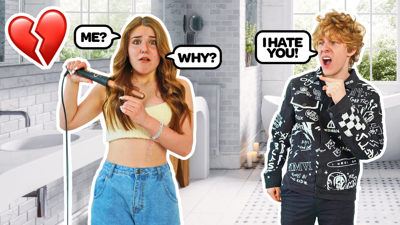 """Telling My GIRLFRIEND """"I Hate You"""" To See How She Reacts **EMOTIONAL** 