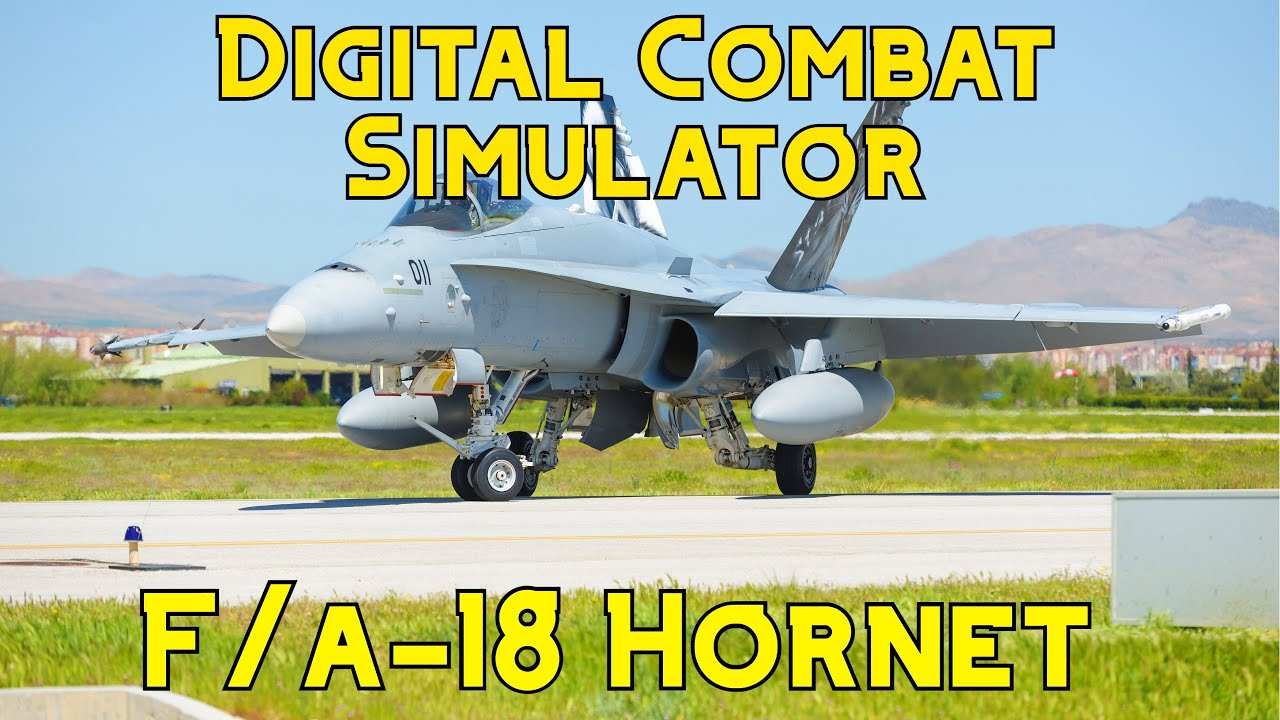 Learning the DCS F/A-18C Hornet `Radio,Taxi & Take off`