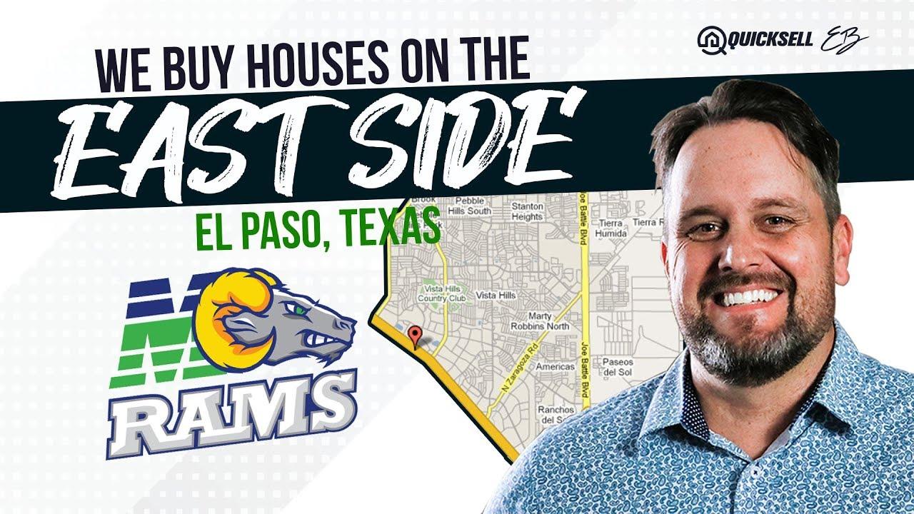 We Buy Houses in East El Paso - East Side