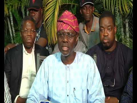 APC GOVERNORSHIP CANDIDATE, JIDE SANWOOLU APPRECIATES LAGOSIANS IN ACCEPTANCE SPEECH