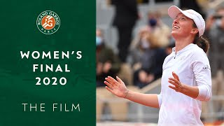 2020 Roland-Garros women's final - The Film