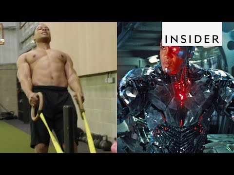 How Ray Fisher Got In Shape To Play Cyborg In 'Justice League'