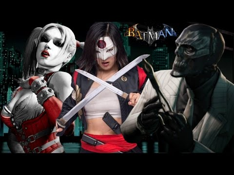 New Batman Game: FEMALE Black Mask, KATANA as Villains! (WB Games Montreal Batman Game)
