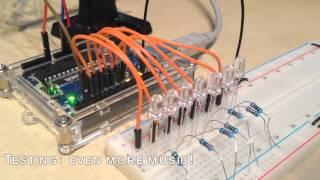 Sound sensitive lights w/ sound sensor & Arduino