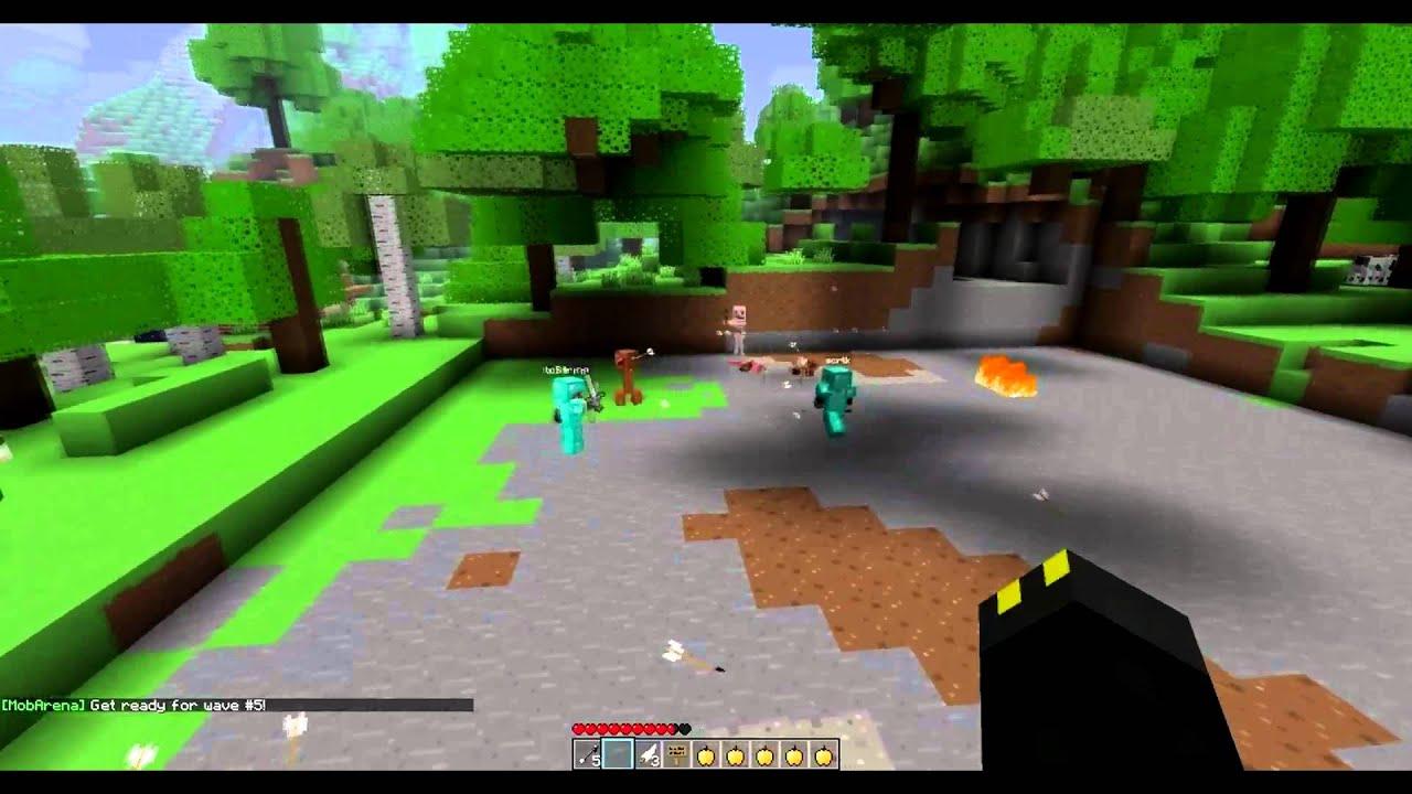 Download OCUK Minecraft Test Server - Mob Arena