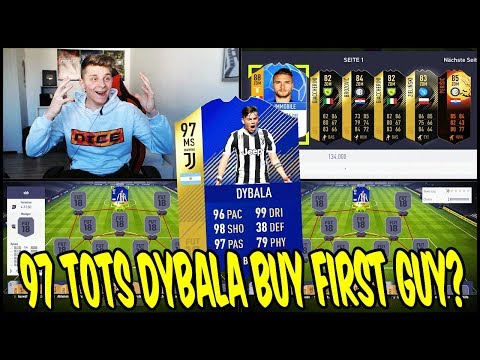 Legendäre 97 TOTS DYBALA Prediction Buy First Guy Discard CHALLENGE! 🔥🔥 FIfa 18 Ultimate Team