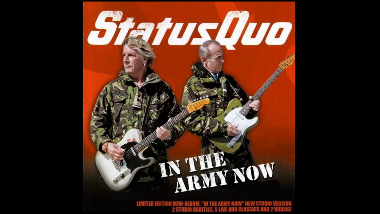 status quo in the army now youtube. Black Bedroom Furniture Sets. Home Design Ideas