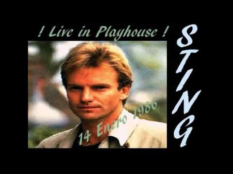 Sting   1986 01 14   Live In Playhouse Theatre   Need Your Love So Bad