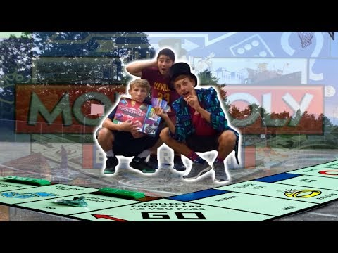 HUMAN MONOPOLY GAME!! (monopoly in real life)