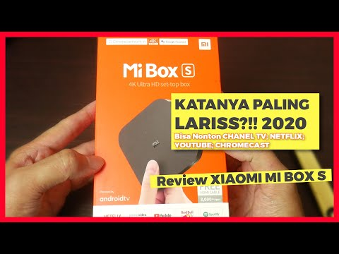 Android TV Box Xiaomi Mi Box S 4K, Unbox & Review : Handal & Bisa Nonton Channel TV Lokal & Netflix
