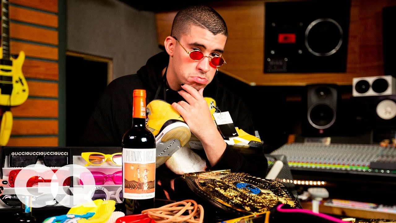 10 Things Bad Bunny Can't Live Without | GQ
