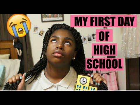 My CRAZY First Day Of High School Experience! | Keke Nicole