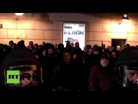 Germany: Neo-Nazis face off against police in Dresden