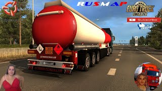 """Euro Truck Simulator 2 (1.38 Beta)   Northen Beauty v2.0 map Addon for Rusmap v2.1.1 by diman26 Murmansk Long Delivery MAN TGX Euro5 by SCS Schwarzmuller Petrol Cistern Trailer by SCS Software Animated gates in companies v3.7 [Schumi] Real Company Logo v1.0 [Schumi] Company addon v1.8 [Schumi] Motorcycle Traffic Pack by Jazzycat FMOD ON and Open Windows Naturalux Graphics and Weather est Gameplay ITA Europe Reskin v1.0 + DLC's & Mods Bugs fixed! Added a new section of the road R-21 Added city MURMANSK Without RusMap this Addon will not work! https://modsbase.com/zezsyo1aiik9/Northern_Beauty_2.0.rar.html  SCS Software News Iberian Peninsula Spain and Portugal Map DLC Planner...2020 https://www.youtube.com/watch?v=NtKeP0c8W5s Euro Truck Simulator 2 Iveco S-Way 2020 https://www.youtube.com/watch?v=980Xdbz-cms&t=56s Euro Truck Simulator 2 MAN TGX 2020 v0.5 by HBB Store https://www.youtube.com/watch?v=HTd79w_JN4E  #TruckAtHome #covid19italia Euro Truck Simulator 2    Road to the Black Sea (DLC)    Beyond the Baltic Sea (DLC)   Vive la France (DLC)    Scandinavia (DLC)    Bella Italia (DLC)   Special Transport (DLC)   Cargo Bundle (DLC)   Vive la France (DLC)    Bella Italia (DLC)    Baltic Sea (DLC) Iberia (DLC)   American Truck Simulator New Mexico (DLC) Oregon (DLC) Washington (DLC) Utah (DLC) Idaho (DLC) Colorado (DLC)     I love you my friends Sexy truck driver test and gameplay ITA  Support me please thanks Support me economically at the mail vanelli.isabella@gmail.com  Roadhunter Trailers Heavy Cargo  http://roadhunter-z3d.de.tl/ SCS Software Merchandise E-Shop https://eshop.scssoft.com/  Euro Truck Simulator 2 http://store.steampowered.com/app/227... SCS software blog  http://blog.scssoft.com/  Specifiche hardware del mio PC: Intel I5 6600k 3,5ghz Dissipatore Cooler Master RR-TX3E  32GB DDR4 Memoria Kingston hyperX Fury MSI GeForce GTX 1660 ARMOR OC 6GB GDDR5 Asus Maximus VIII Ranger Gaming Cooler master Gx750 SanDisk SSD PLUS 240GB  HDD WD Blue 3.5"""" 64mb SATA III"""