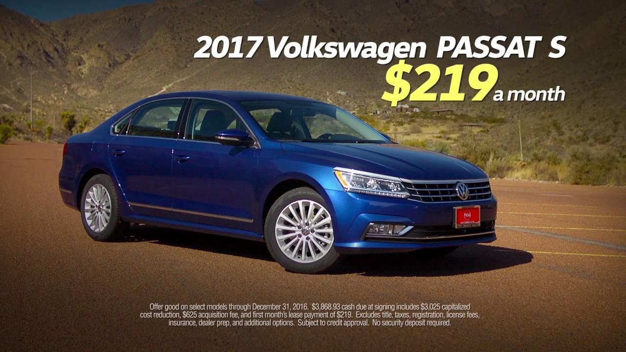 2017 passat lease