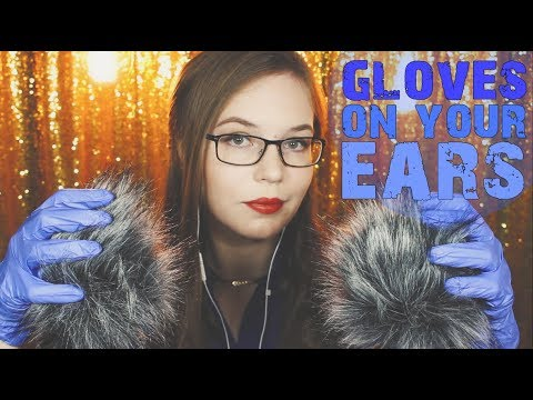 Nitrile Gloves on our Ears ⚡️ Windshield Squishing ⚡️ Whispered Binaural HD ASMR