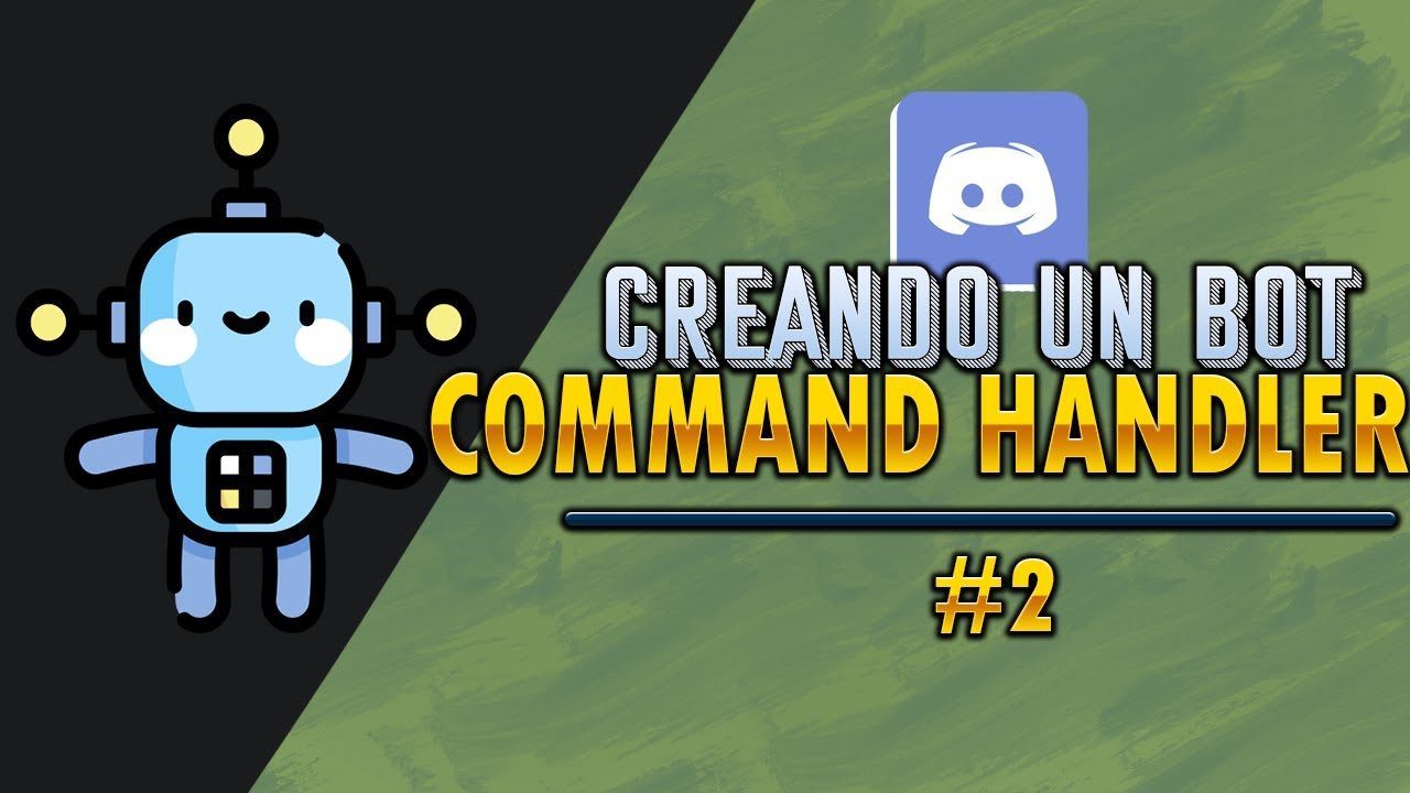 Cómo Crear un BOT en DISCORD | Command Handler | Discord.JS | #2 🤖