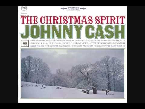Johnny Cash - The Christmas Spirit - YouTube