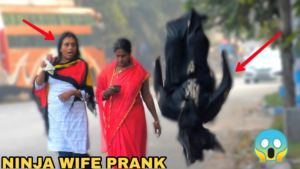 Ninja Begum Prank First Time in India ! || MOUZ PRANK