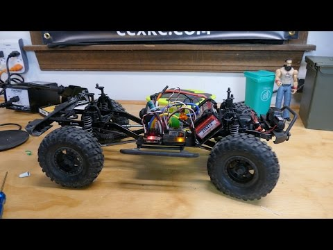 RC On The Bench: SCX10 Upgrade - Novak Eiger ESC & Terra Claw 35T Motor