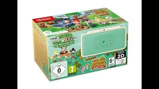 New Nintendo 2DS XL Animal Crossing Edition Revealed