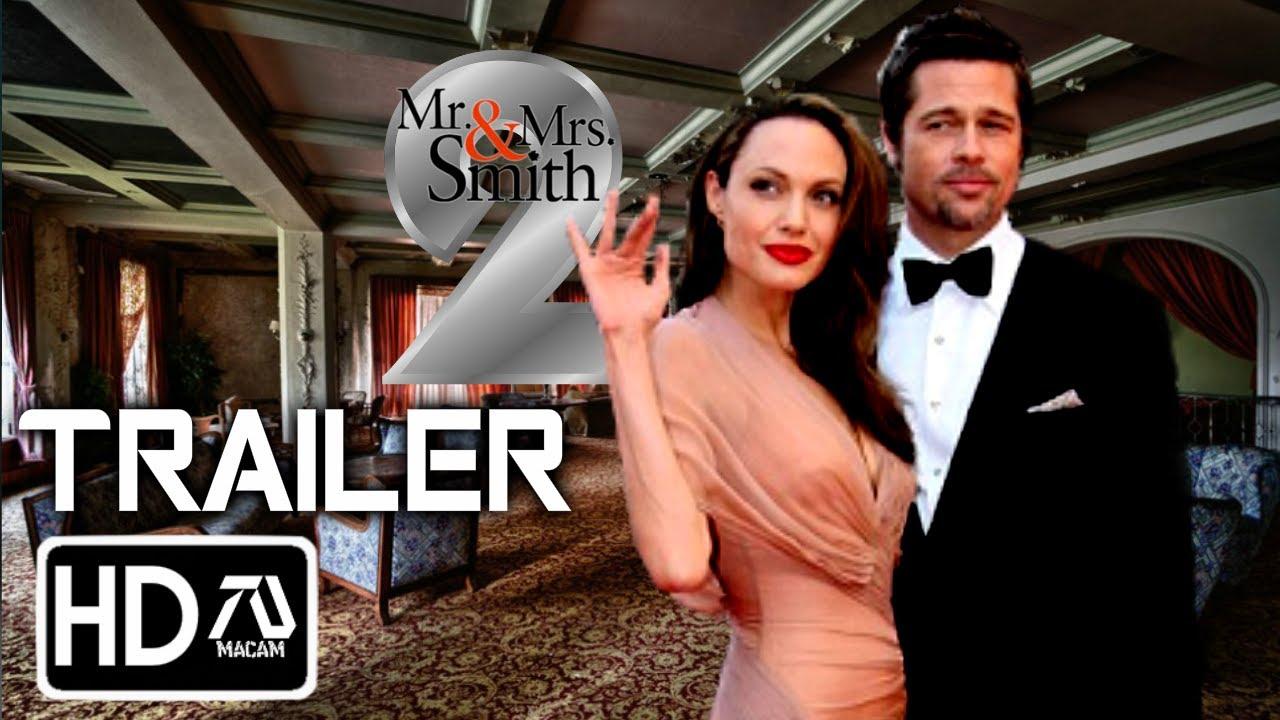 Mr And Mrs Smith 2 Hd Trailer Brad Pitt Angelina Jolie Fan Made Youtube