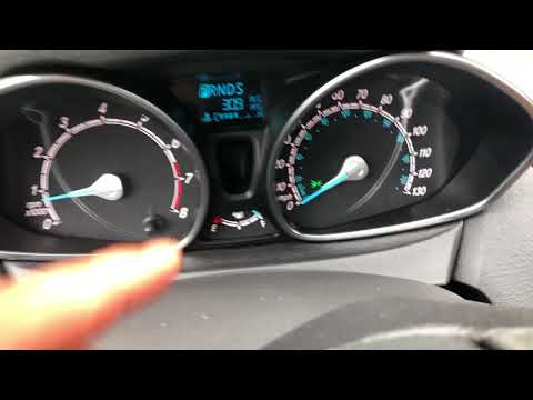 Ford Fiesta Highbeam Lights How To Turn On And Off Youtube