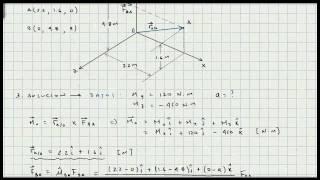 Momento Respecto a un Punto y Ejes Coordenados X Y Z - Mecanica Vectorial - Estatica - Video 122