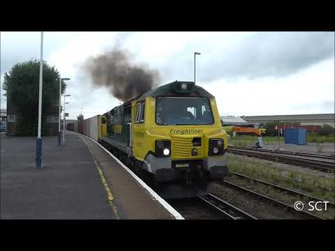 Special Moves & Freight @ Eastleigh Railway Station - 8th August 2017