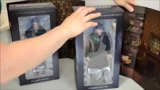 BBC Sherlock Figurines - Sherlock and John Signed - By Big Chief Studios