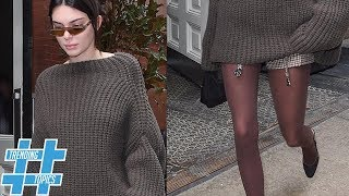 Kendall Jenner & More Celebs Replace Fishnets with Colored Tights | HS Trending Topics