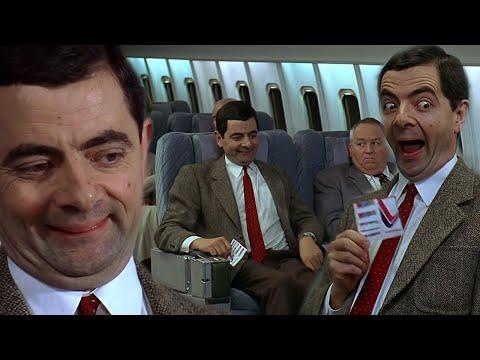 Mr Bean travels to AMERICA   Bean Movie   Classic Mr Bean