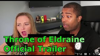 Throne of Eldraine Official Trailer – Magic: The Gathering (Jane and JV's REACTION 🔥)