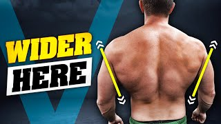 The BIGGER BACK Solution! (WIDER & THICKER)