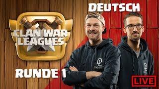 🔴Clash of Clans Live - Dark Looters Comeback - Clankriegs Liga Stream Tag 1 - coc deutsch
