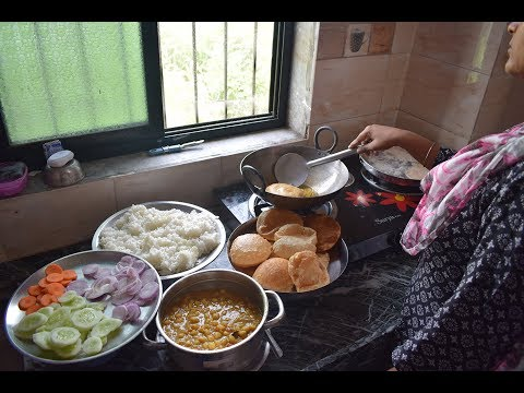 SUNDAY INDIAN LUNCH ROUTINE 2018 IN HINDI | SUNDAY LUNCH RECIPES INDIAN  | KITCHEN CLEANING ROUTINE