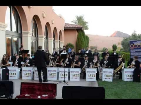 Thurman White Middle School's Adv Jazz Band @Lake Las Vegas on 2014.10.24