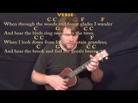 How Great Thou Art Ukulele chords by Carrie Underwood - Worship Chords