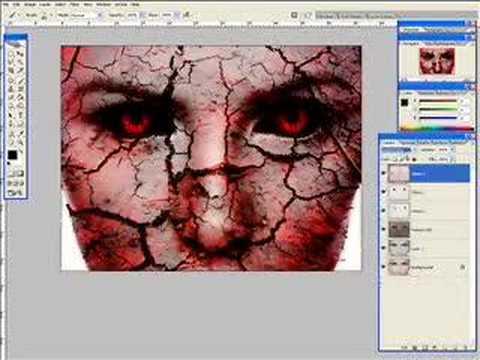 Kate Beckinsale - Dark Art Photoshop