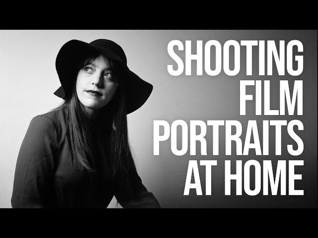How to Shoot Film Portraits at Home (feat. Fuji GW690ii + Yashica EM)