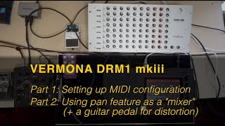 Tips for setting up the Vermona DRM1 mkiii
