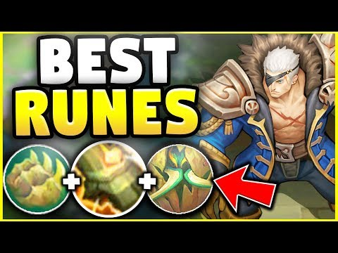 WTF ARE THESE NEW RUNES! THESE ARE THE BEST RUNES FOR GAREN IN SEASON 8! - League of legends
