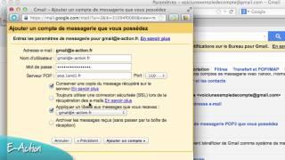 Ajouter une adresse email 1&1 à un compte Gmail